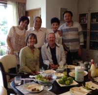 from left: Rumiko, Otoosan, Okaasan, Katsuhito. (Absent: Kayoko & Sinji)