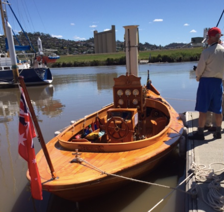 wooden boat rally, Launceston